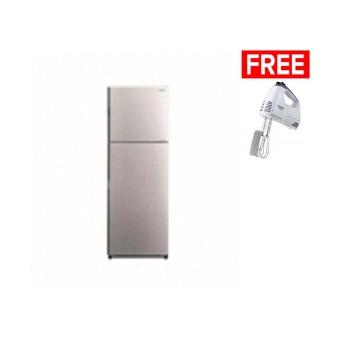 Jual Hitachi Refrigerator 2 Door R H24PGD4SLS (Silver) Online Review