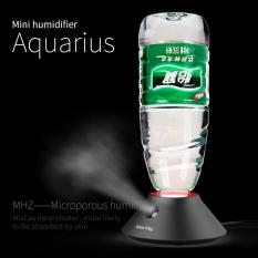 Humidifier dengan Slot Botol Mineral - Black