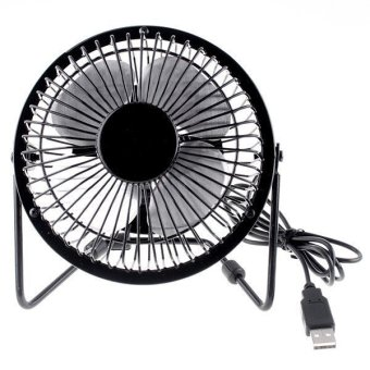 Harga Gokea Kipas Angin USB - USB Mini Fan - Hitam
