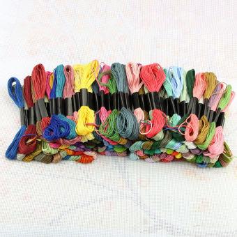 Diseduh Sendiri Sulaman Cross Stitch Kit Perjamuan Malam Terakhir Source · 300 pcs Cross Stitch Cotton