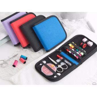 Sewing box kotak 138pcs portable alat jahit set peralatan benang jarum. Source · 25PCS TRAVEL