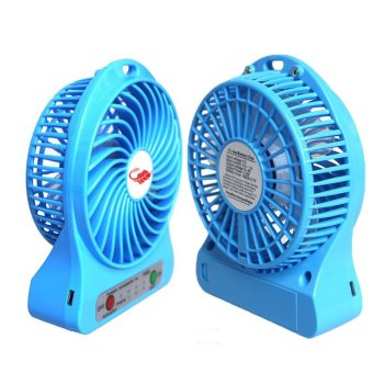Harga HG Mini Fan USB Recharge- Multicolor