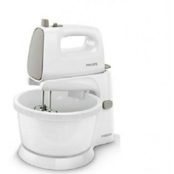Harga Philips Hand and Stand Mixer HR1559 - Abu-Abu