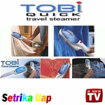 Harga Tobi Quick Travel Steamer/Seterika Uap Portable
