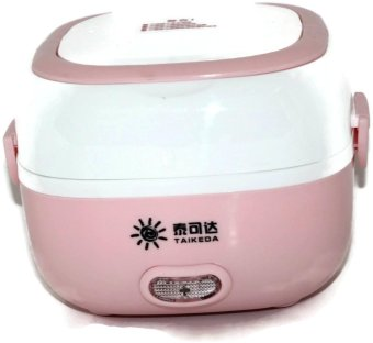 Taikeda Electric Lunch Box- Mini Rice Cooker - Pink