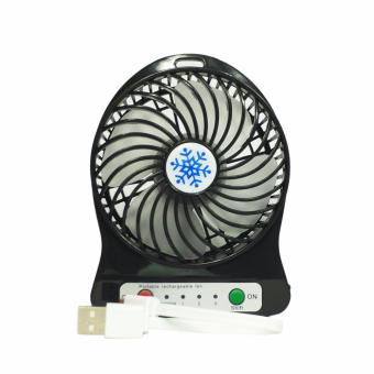 Harga Panzer Smart Power Portable Fan mini Fan with USB dan Lithium Battery (hitam)