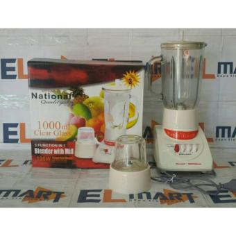 Harga Matsunichi national 3in1 blender gelas kaca 1L