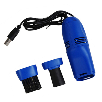 Harga Portable Vacuum Cleaner USB - Biru
