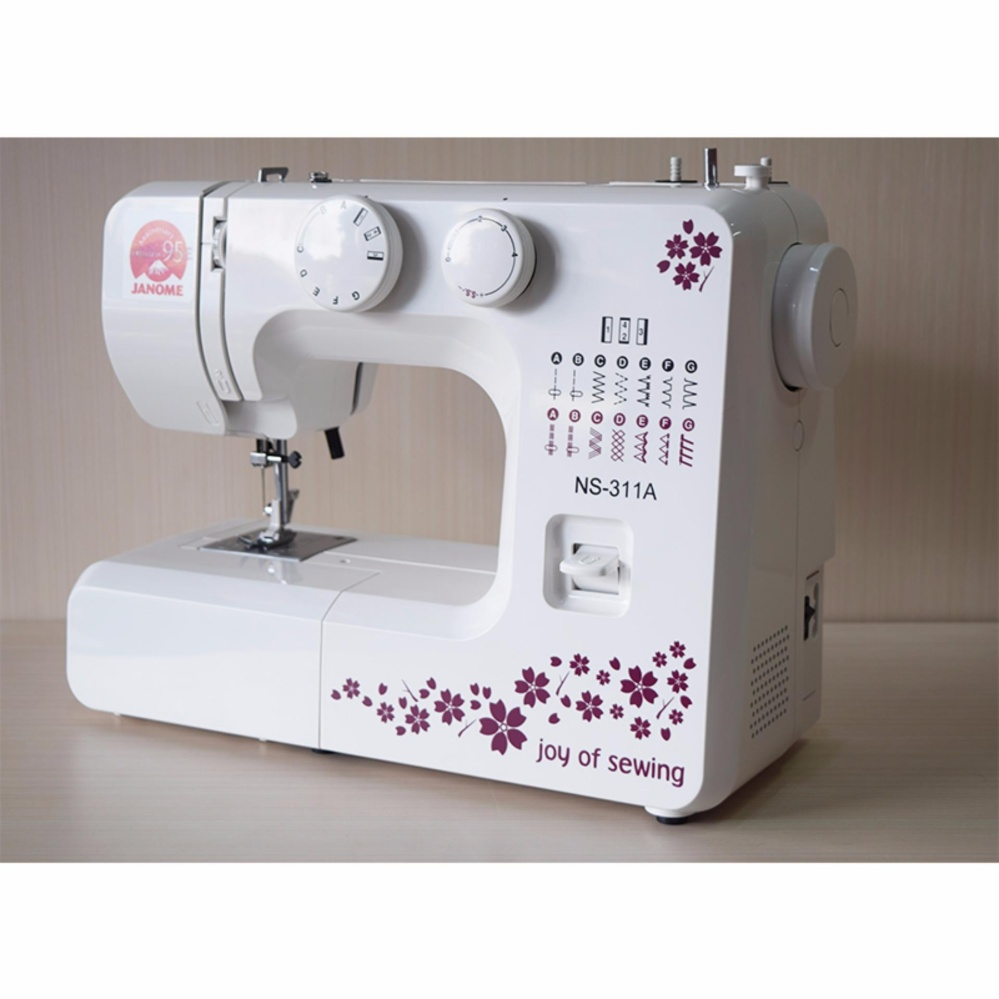 JANOME NS 311A Mesin Jahit +FREE SJS VIP Packages Kit ...