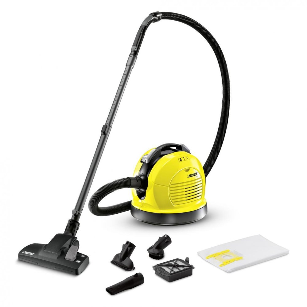 Periksa Peringkat Karcher Vacuum Cleaner Vc 5200 Hepa Filter Wd4 Mv 4 Premium Wet And Dry Kuning