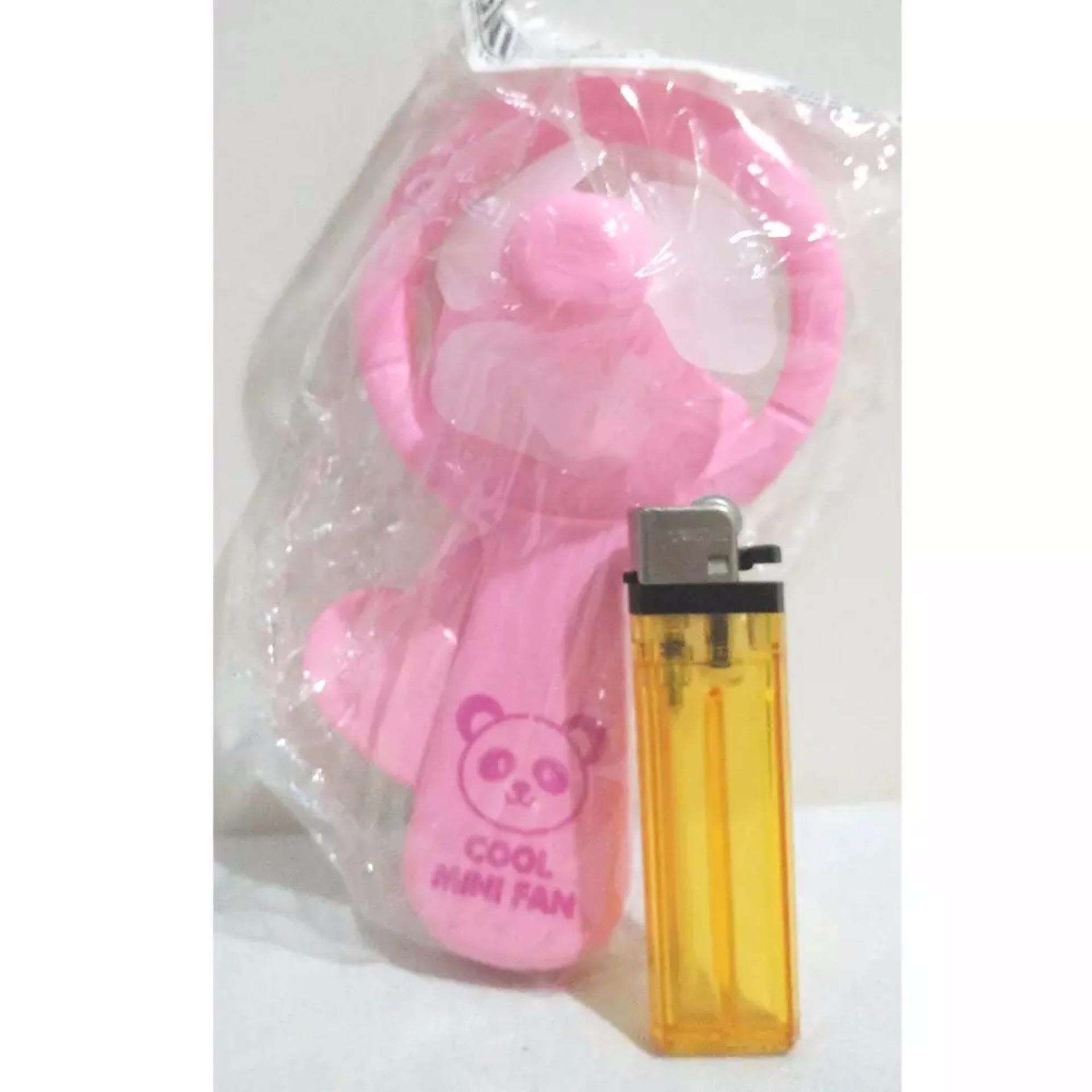 Anggaran Terbaik Kipas Angin Manual Pencet Besar Murah Mainan Lucu Pink