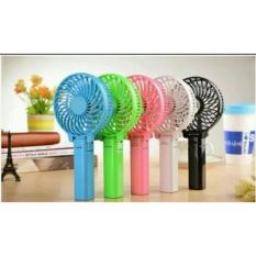 Kipas Handy Mini Fan Lipat Portable Rechargeable Quality Brand Random Color