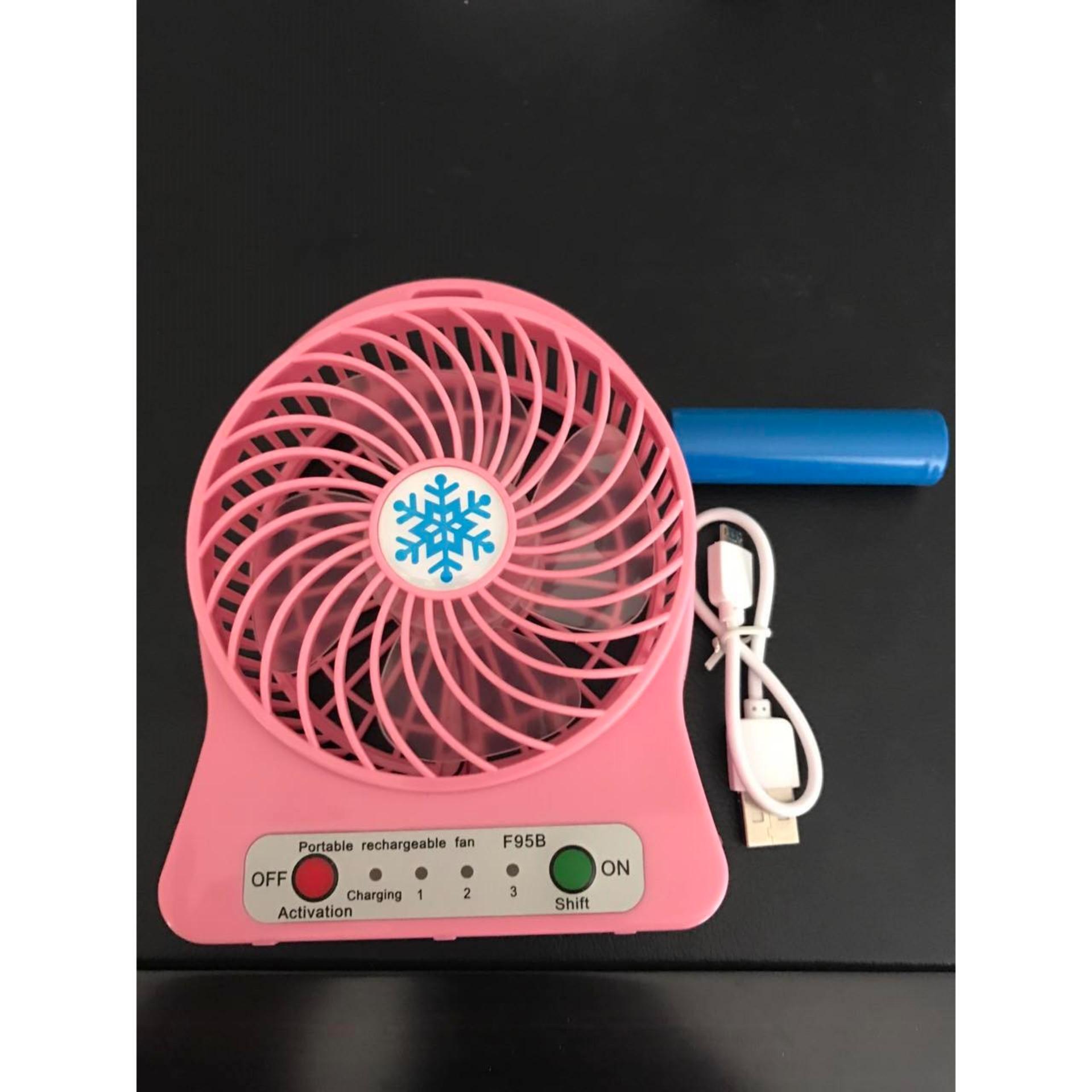 Kipas Angin Mini Portable / Mini Fan Usb / Kipas Angin Usb .