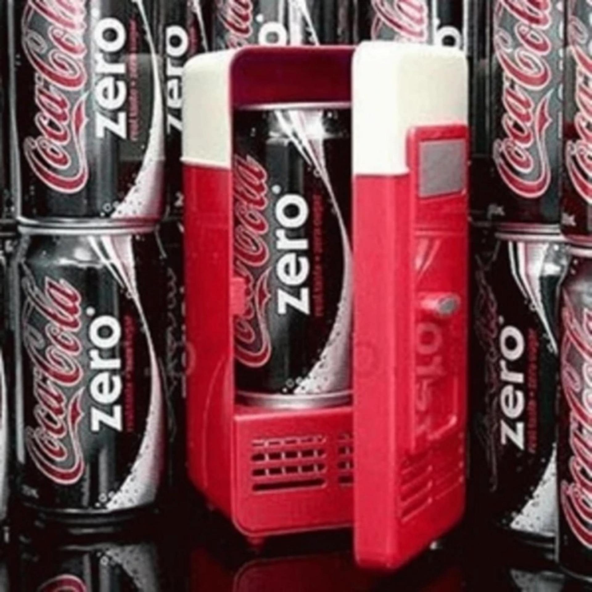Kulkas Mini USB Pendingin Portable - Mini USB Fridge Cooler Box
