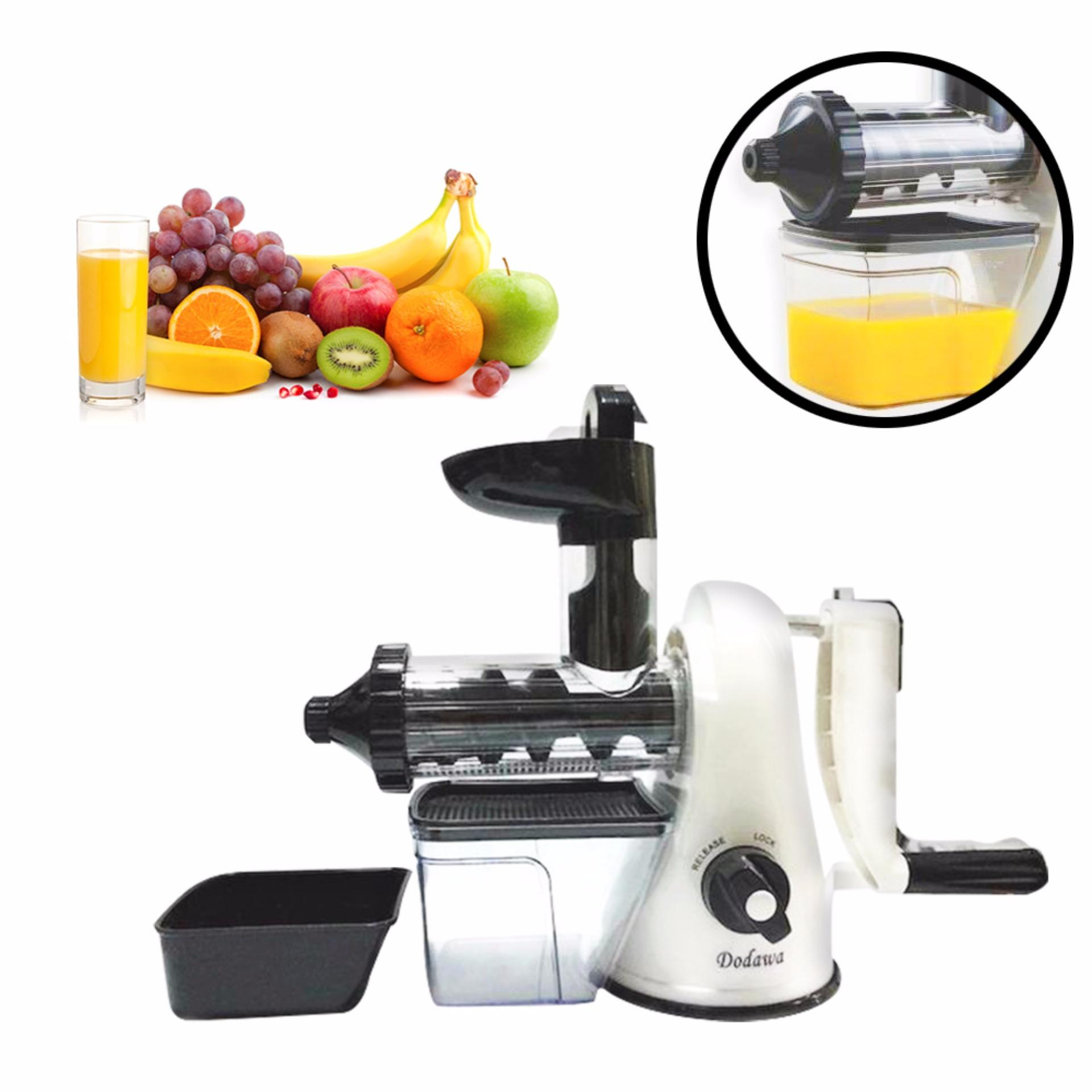 Manual Slow juicer Dodawa DD-830 Mesin jus .