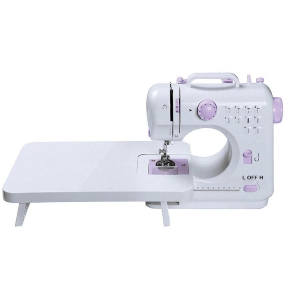 ... Mesin Jahit Portable FHSM 505 A- 12 Pola Jahitan Mini Sewing +Lampu ...