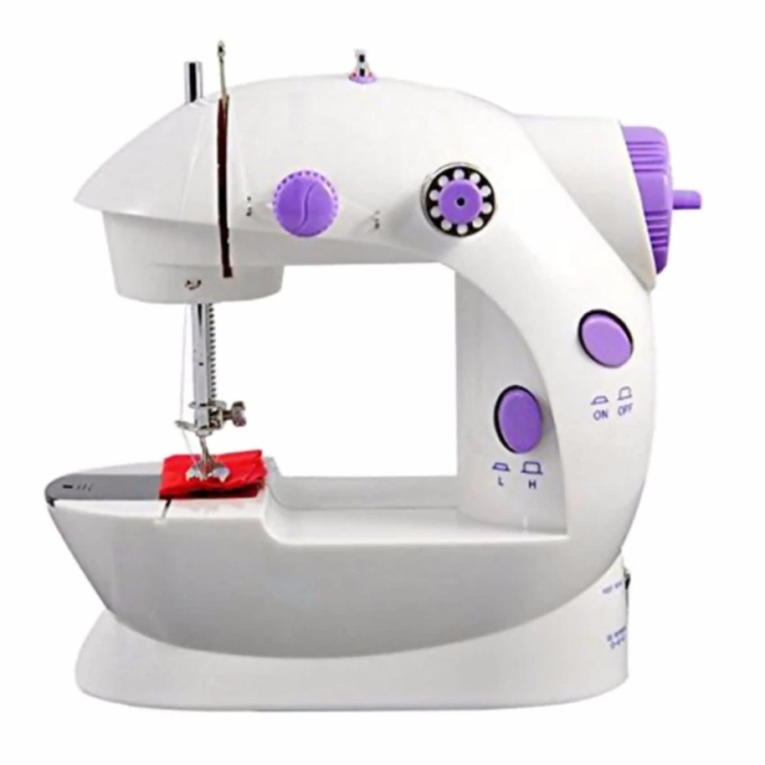 Mini Sewing Machine 4IN1 Portable SM-202A/ Mesin Jahit 4IN1 Mini - Putih