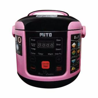 Mito R1 8in1 Digital Rice Cooker - Hitam [1 L]