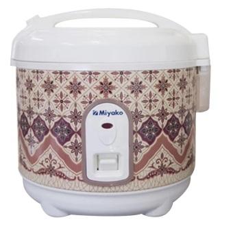 sakura motif batik cover rice cooker