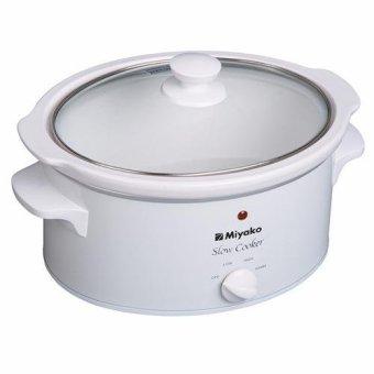 Jual Miyako Slow Cooker Sc-400 - 4 L - Putih Murah
