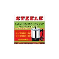 Mug pemanas listrik (electric heating cup) EC-13 STEELE