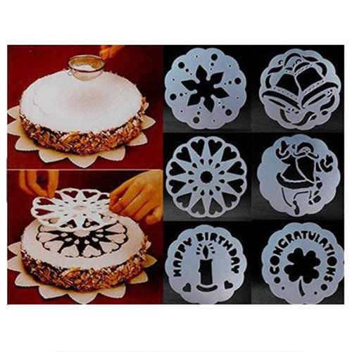 ... Cetakan Fondant Alat Dekorasi Kue Ulang Tahun Wedding Cake Loyang. Source · New Breath 6 Pieces Cake Stencils .