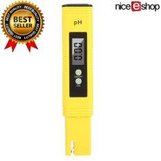 niceEshop gelar pH meter digital, telp penguji dengan ATC, 0.02 telp akurasi tinggi, 0.00-14.00 telp rentang pengukuran, penguji kualitas air, kalibrasi otomatis