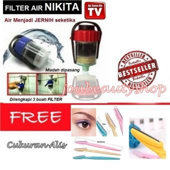 Nikita Water Filter Penyaring Air Efisien Saringan Kran - CukuranAlis - Pembentuk Alis Indah