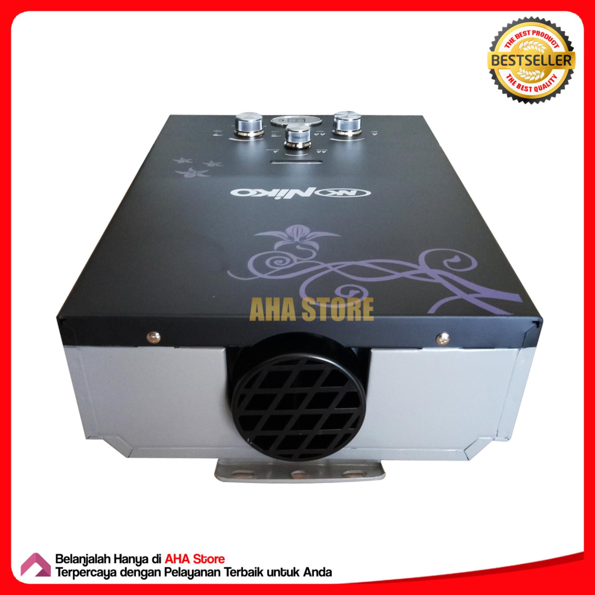 Harga Penawaran Niko Gas Water Heater Pemanas Air Nk6ld Hitam Wika Lxc 150 Tenaga Matahari