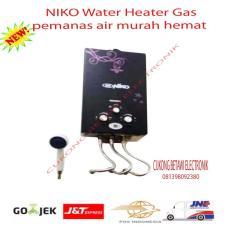 Niko NK6LD Gas Water Heater Pemanas Air - Hitam - Promo