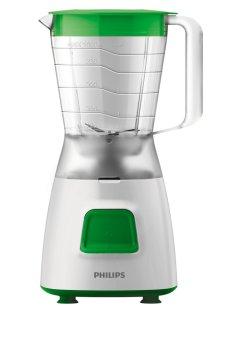 harga PHILIPS Blender Plastik 1.25 Liter HR2057 - Hijau Lazada.co.id