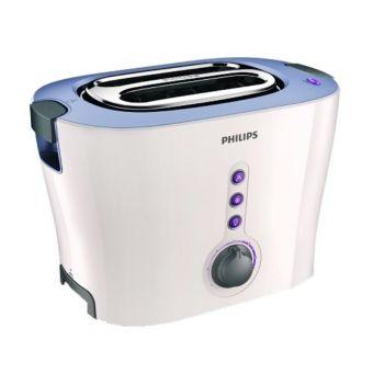 philips hd-2630 toaster – putih ungu