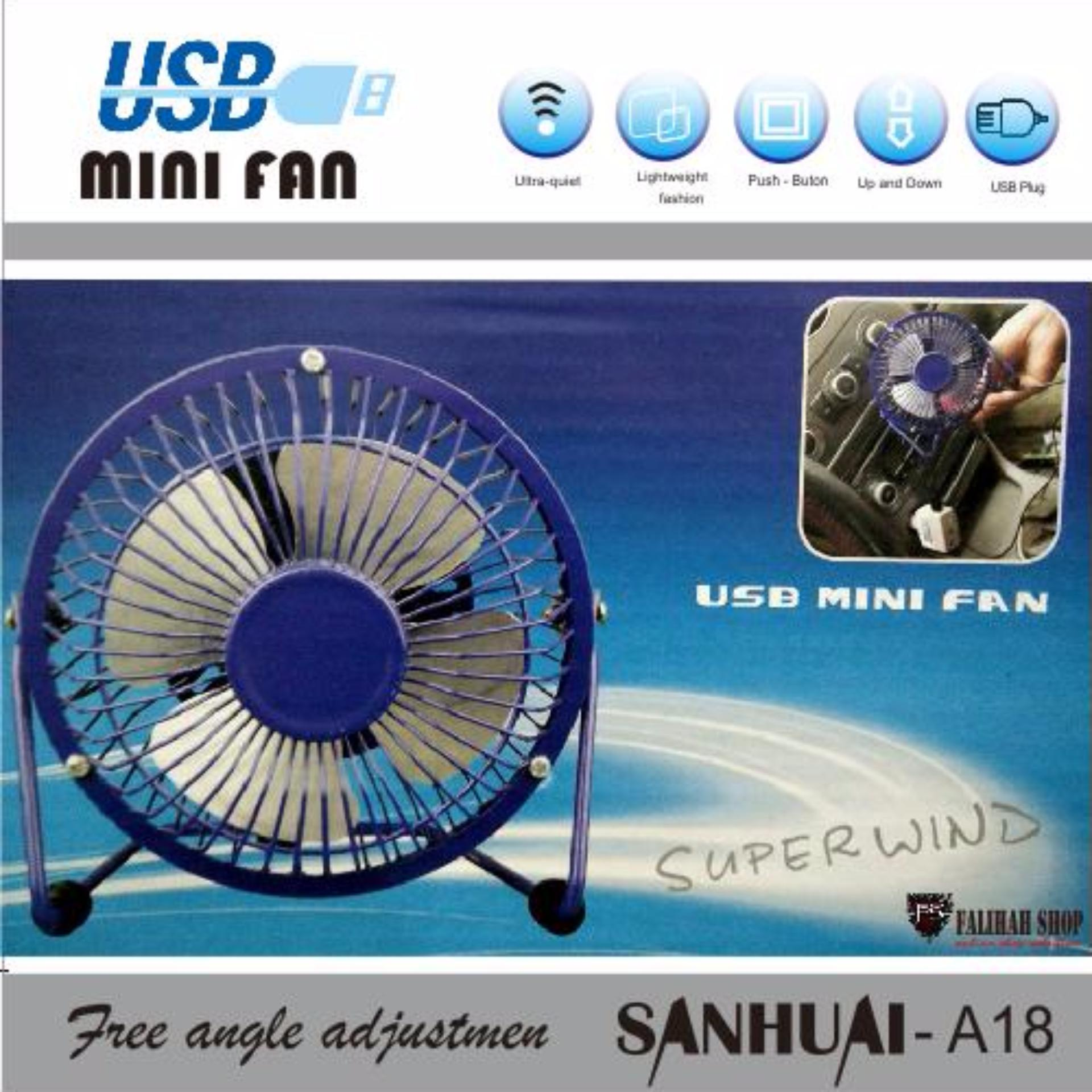 Usb Mini Fan Kipas Angin Kecil Murah Fan4 Handy Pitaldo