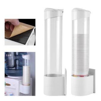 ... Plastic Anti Dust Paper Cup Dispenser Holder 7.5cm 50 CupsContainer - intl - 5