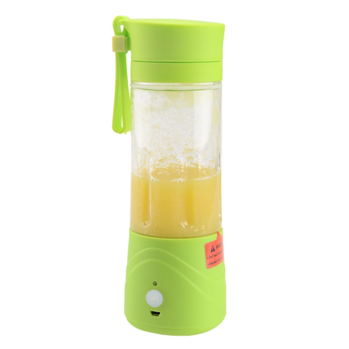 ... QuincyHome Shake n Go Portable with USB Rechargeable Battery 380mlMini Blender Juice - (Botol Kaca ...