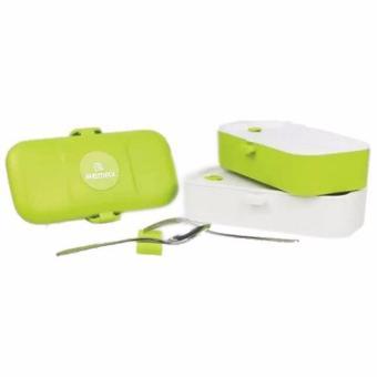 Perbandingan harga Remax Kotak Makan 2 Tingkat - RT-BT01 - Green Harga Penawaran