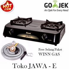 Rinnai Ri302s + Selang Paket Winn Gas - PAKET HEMAT