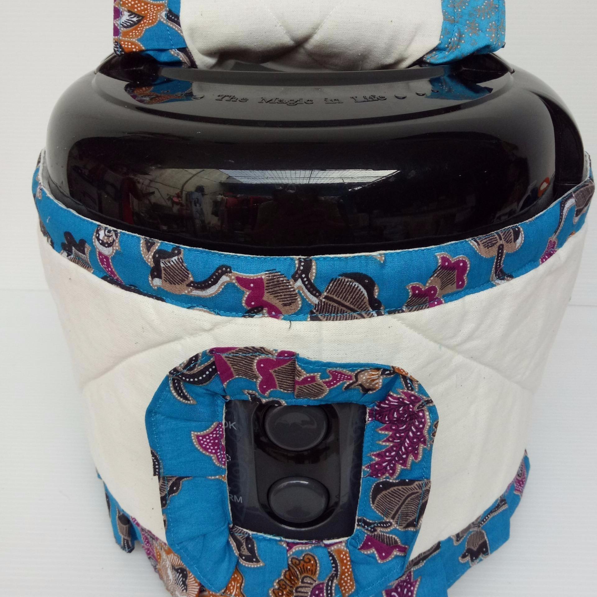 Sakura Motif Batik Cover Rice Cooker Daftar Harga Terbaru Cmos Magic Com 12l Crj10lj