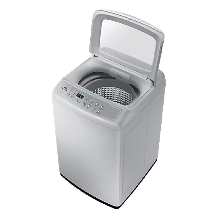 Samsung WA70H4000SG Mesin Cuci Top Load 7Kg (Grey) - KhususJABODETABEK .