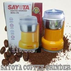 Sayota Blender coffee grinder /biji kopi SCG178 (garansi resmi sayota) orange dan hijau
