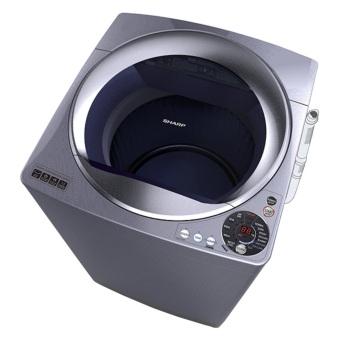Sharp Mesin Cuci Top Loading 10 Kg - ES-M1008T-SA