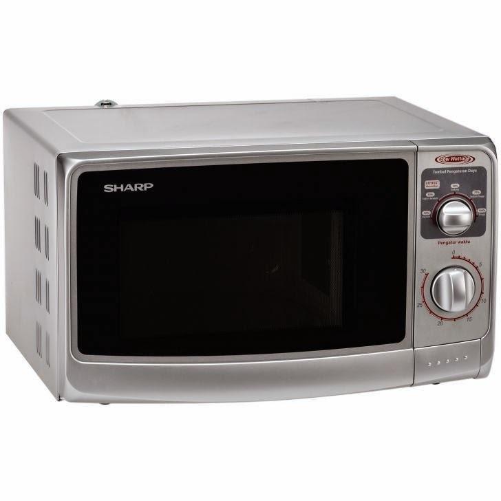 sharp microwave. sharp microwave 22 liter r-222y-s - silver khusus jabodetabek   lazada indonesia h