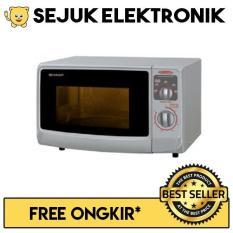 Sharp R-222Y-S Microwave Oven 22 Liter Low Watt (KHUSUS JADETABEK)