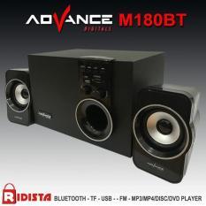 Speaker Advance Aktif Portable M180bt Bluetooth Subwoofer Bass -T398 - 36A969