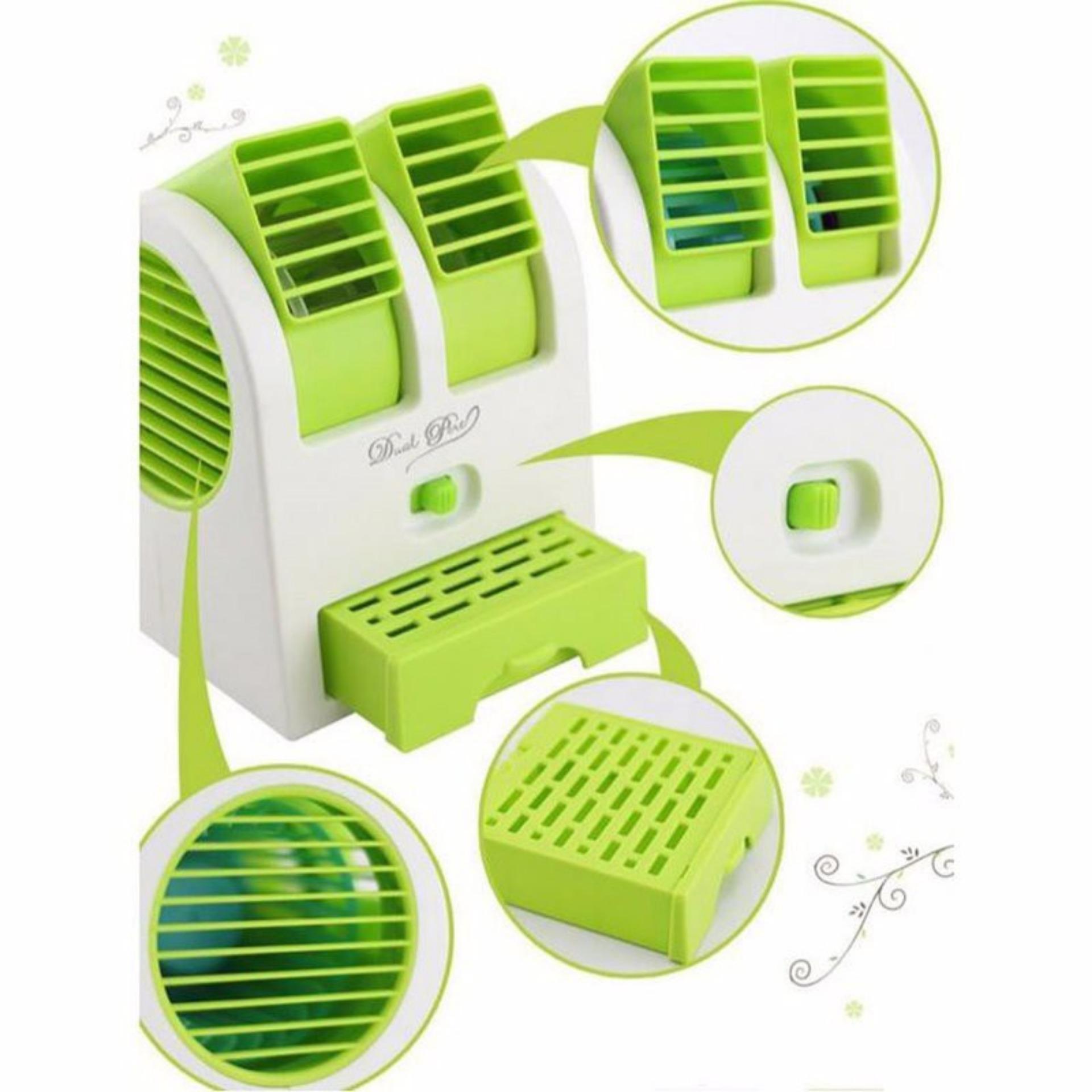 Belanja Murah Termurah Ac Duduk Double Mini Fan Portable Blower Kipas Angin Twin Parfum Usb