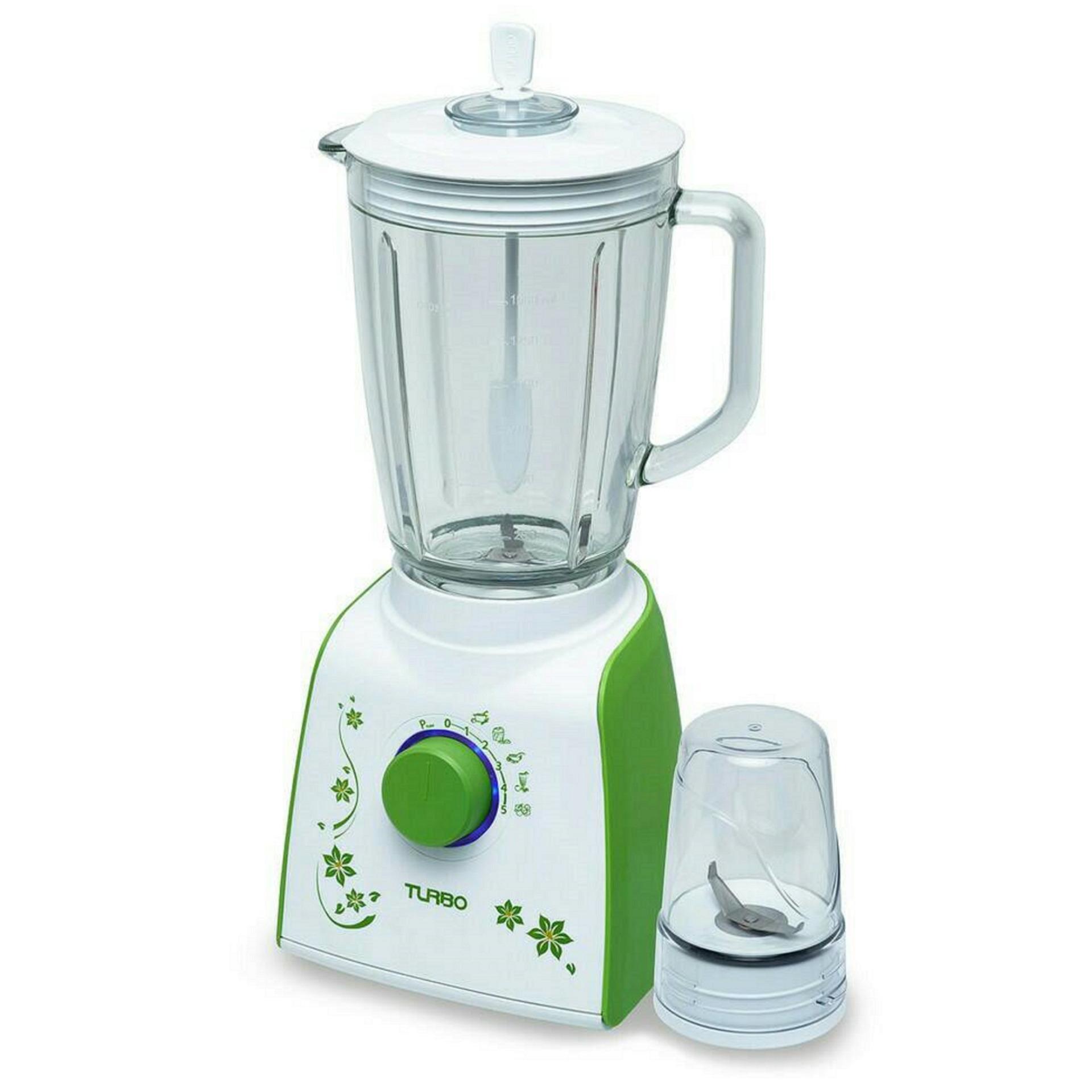 Hot Deals Turbo Blender Gelas Kaca Drymill Ehm 8098 Hijau