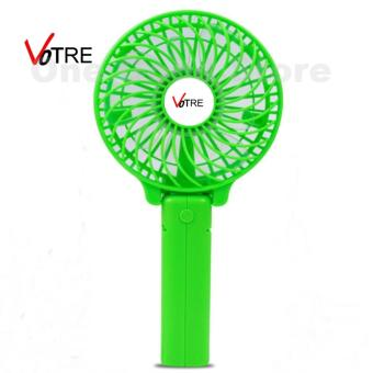 Detail Gambar VOTRE Kipas Mini Lipat Portable Small Fan Rechargeable - Hijau / Green dan Variasi Modelnya