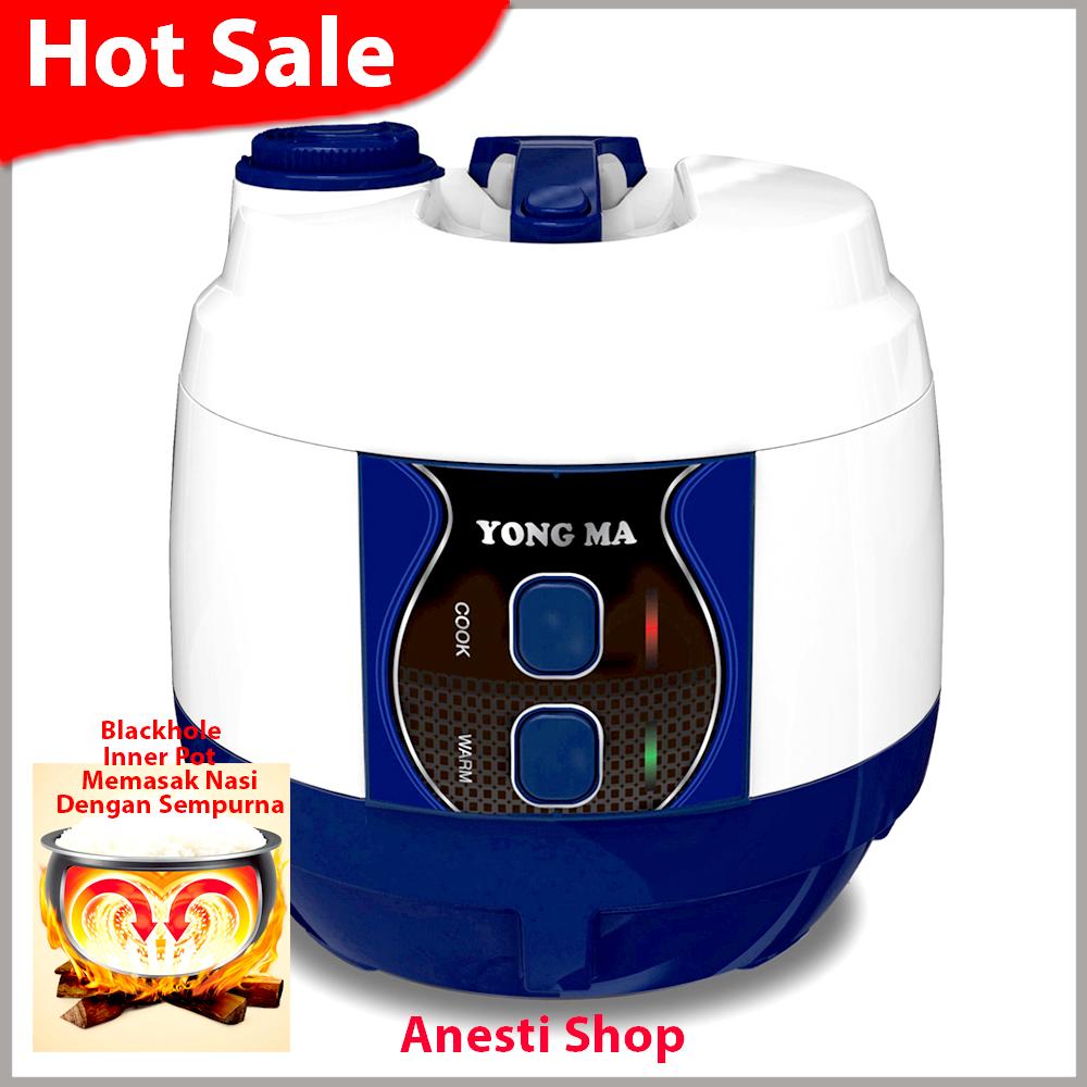 Harga Baru Yong Ma Magic Com Rice Cooker Blackhole Inner Pot Ymc 210 Digital Mc Kap 2liter