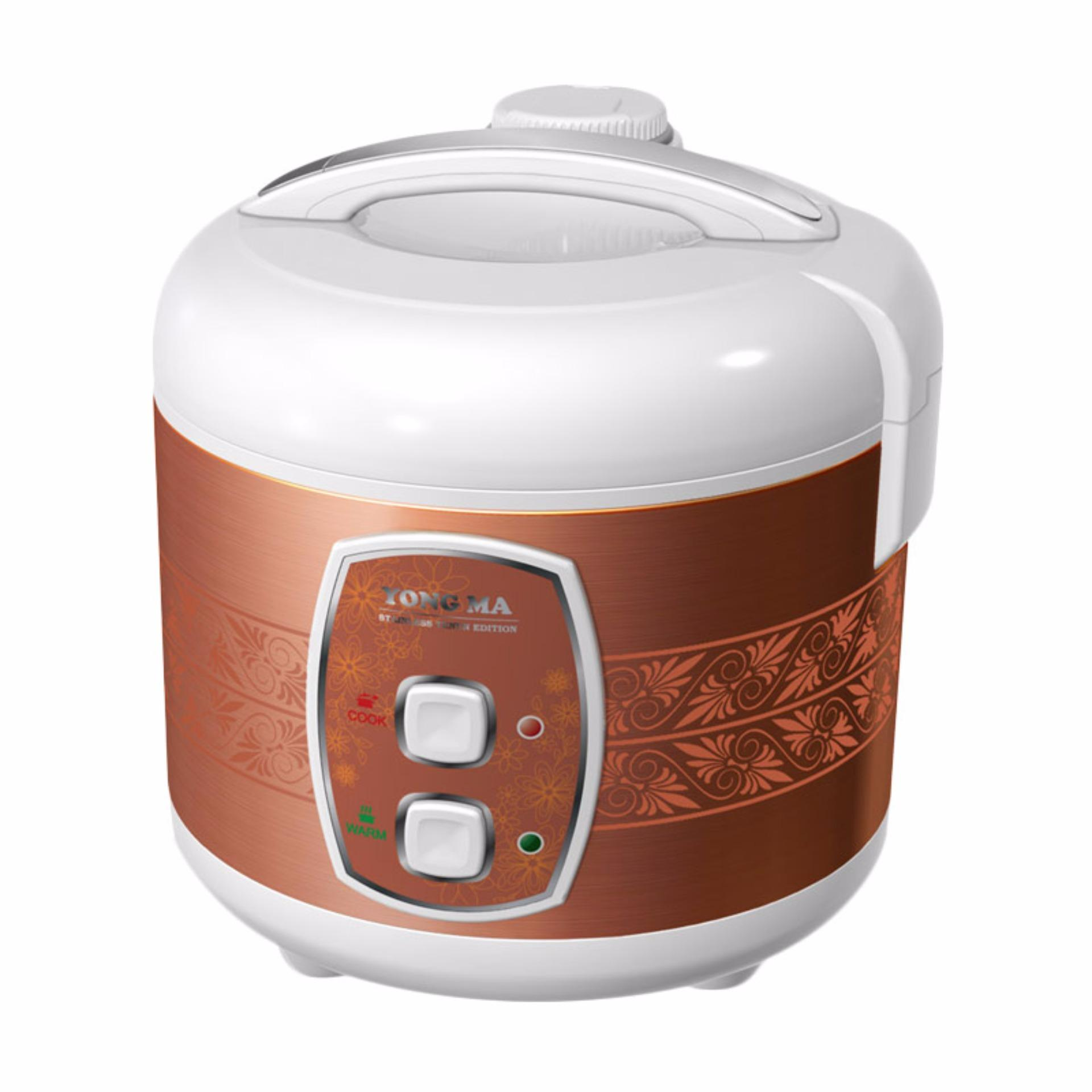 Yong Ma Yongma Magic Com 3in1 Ymc109 2l Gold Iron Wing Update Mc5600r Digital Multi Rice Cooker Ymc 501 Ymc501teflon Brown
