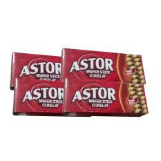 Rp 78.500. Astor Wafer Double Coklat - 4 Kotak - 150 gram - Biskuit Keluarga ...